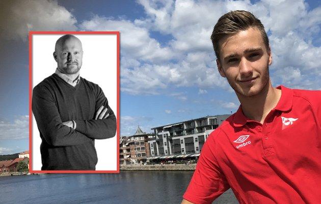 COMING MAN: Joacim Jonasson gir i dagens Fotballblogg en analyse av Tomas Lopez Borgesren. Foto: Vidar Henriksen
