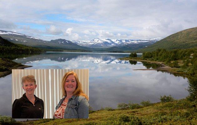 Illustrasjonsfoto frå Øvre Sjodalsvatnet. Foto: Ketil Sandviken