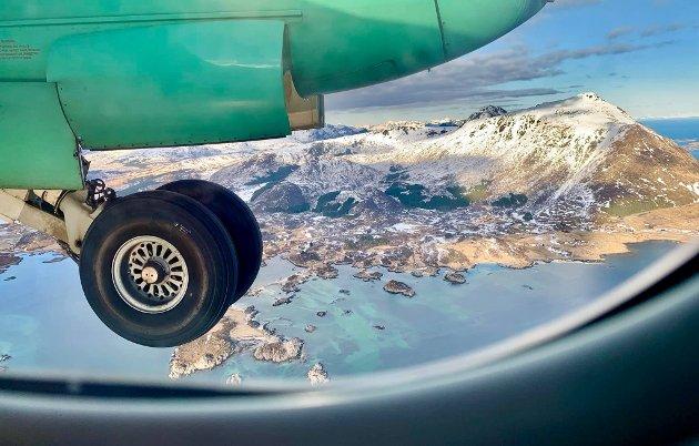 For å tilpasse tilbudet til etterspørselen vil det fra 1. desember bli færre flyvninger til og fra Leknes.
