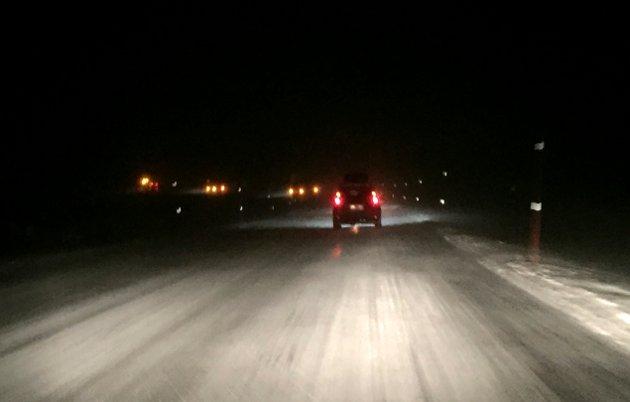 Kolonnekjøring, som her på Saltfjellet, er ikke blant de største utfordringene i Østfold fylke.