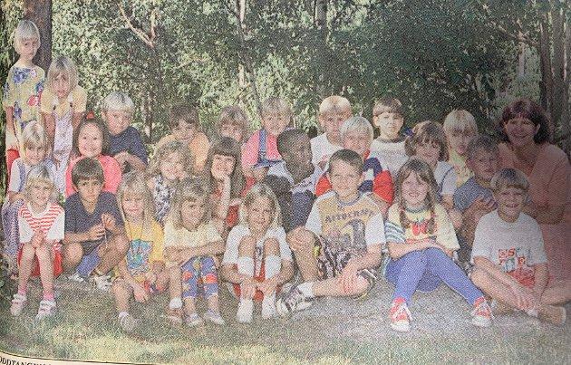 Denne fine gjengen startet i 1A på Nesoddtangen skole i 1995.