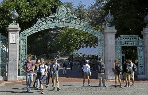 – Hvis man skal finne nøkkelen til Donald Trump, er ikke dette stedet å lete, skriver Chris Tvedt om byen Berkeley, som blant annet er kjent for sin avdeling av University of California (bildet).