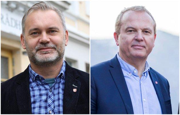 Ola Teigen og Helge Robert Midtbø.