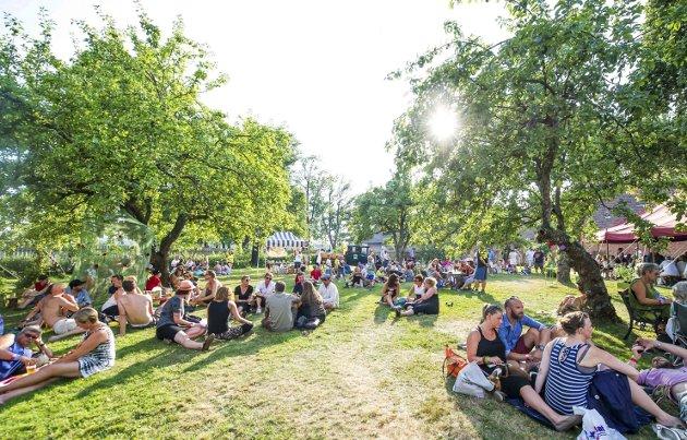 Positivt: «En festival gir byen særpreg», skriver Maya Nielsen.