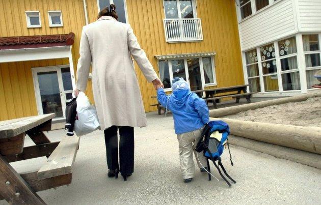 BARNEVERN: Barnevernet kan ikke velge om de har råd eller ikke til å gi den hjelpen som trengs, påpeker skribenten. Illustrasjonsfoto: Vidar Ruud, ANB