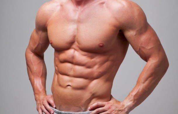 SIXPACK: Hva skal man med en mage det ikke er plass til mat i?Definitivt et illustrasjonsfoto