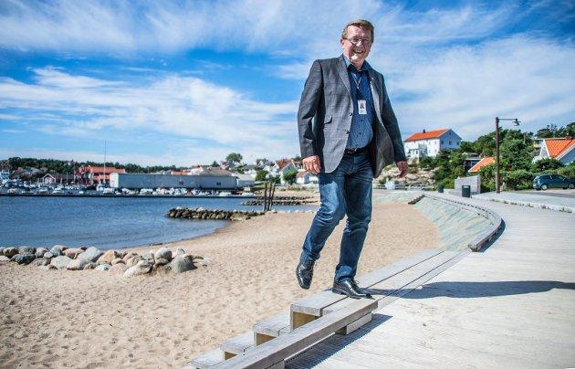 Populær: Eivind Borge er i dag Frps eneste ordfører i Østfold. Mye tyder på at den tidligere mureren kan belage seg på fire nye år som øy-kommunens fremste folkevalgte.