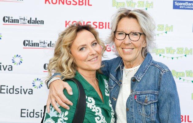 Byen Vår-jentene, Birgitta Lindén og Marvel Sørensen.