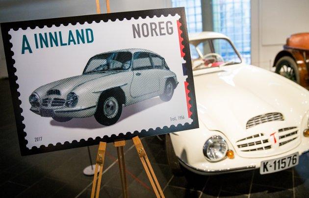 Troll. Lansering av frimerker på Norsk Vegmuseum.