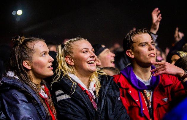 Staysman og Lazz spilte sammen med Katastrofe på landstreffet for russen på Birkebeinerstadion.