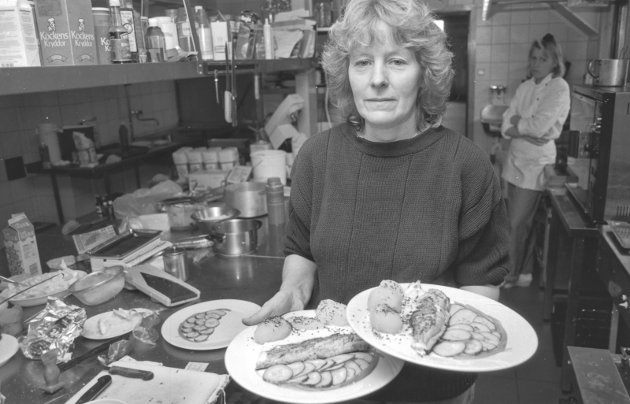Halne Fjellstove:  Liv Vaksdal, 9. september 1991.