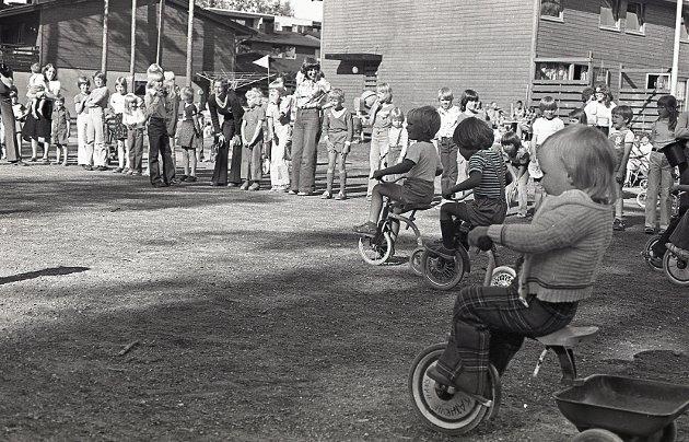 Barnas dag på Øreåsen, sommeren 1978.