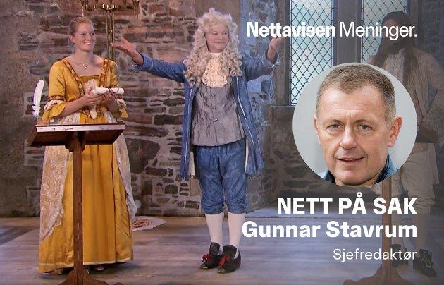 1764: Den nye justisministeren Emilie Mehl Enger vant NRK-serien Anno i 2015. Hun skal også delta i neste Kompani Lauritzen.