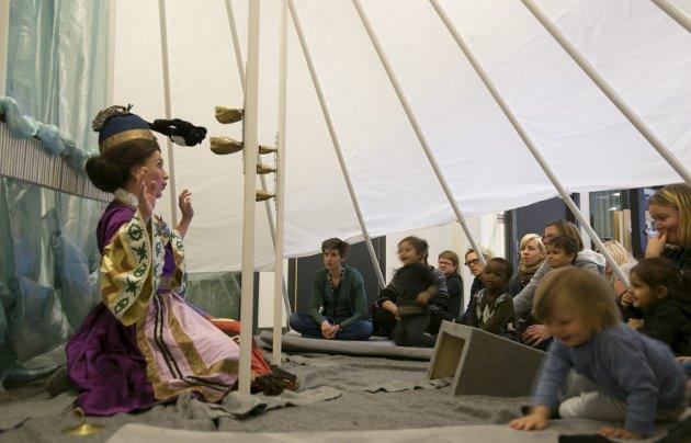 Se her: I Larvik kan man en gang i året oppleve det som lages for barn og unge av musikkproduksjoner.