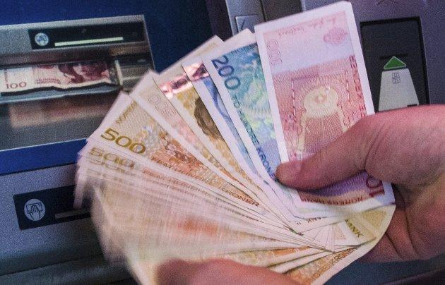 Så mye har vi: Det kan ikke være så vanskelig å ikke bruke penger man ikke har.