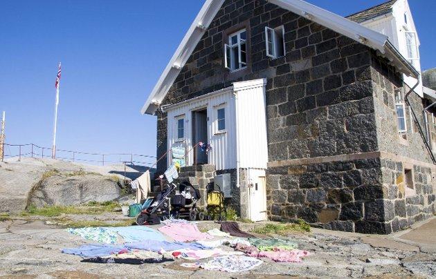 Slaveri: Fyrmesterboligen på Svenner ble satt opp av store steinblokker av straffanger fra Akershus.
