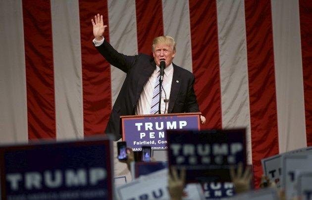 The Donald: Tenk på deg selv, deg selv og din egen neste - hvis det er til ditt eget beste.