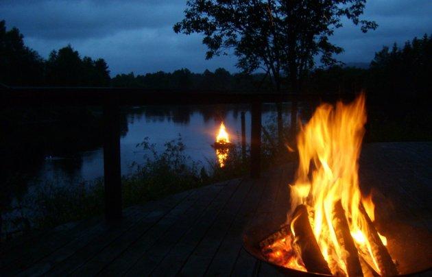 Stillheten: Kanskje er det i stillheten flammen brenner tydeligst.