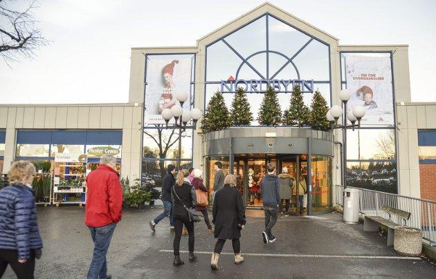 BUTIKKANGST: For en mann med angst for butikker er nok kjøpesenter det aller verste man roter seg inn i.