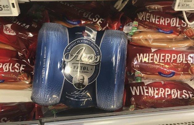 KRISE: Både øl og pølser har blitt kriserammet fordi man mangeler en gass i produksjonen. Et I-landsproblem.foto: Per Albrigtsen