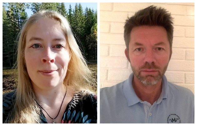 – Vi strekker med dette ut en hånd for samarbeid, skriver Cecilie Pérez og Eskil Dahl Rotherud i Utdanningsforbundet Viken.