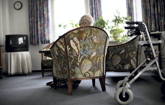 Omsorgsbustader kan ikkje erstatte sjukeheimsplassar, påpeiker Johs. J. Vaag. (Illustrasjonsfoto: NTB Scanpix)