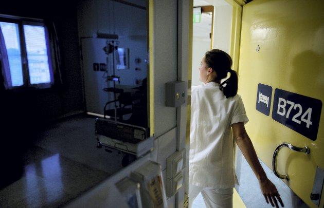 Sykehus er blitt foretak. Er det pengenes eller pasientens helsevesen? spør innleggsforfatteren. FOTO: Tore Meek / NTB SCANPIX
