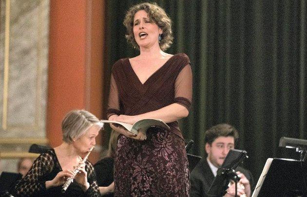 Bildetekst: unikt: Det Norske Blåseensemble, koret Schola Cantorum med solister og Oslo strykekvaretett bød på en unik musikkopplevelse i aulaen fredag kveld.