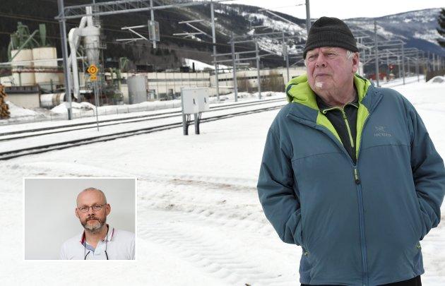 I dag kaller tidligere transportør Tor Kolloen det bygningsskallet som Forestia forlot for en «skamplett for bygda». Like mye er det en skamplett for politikken, eller for fraværet av politikk. (Foto: Kristin Veskje)