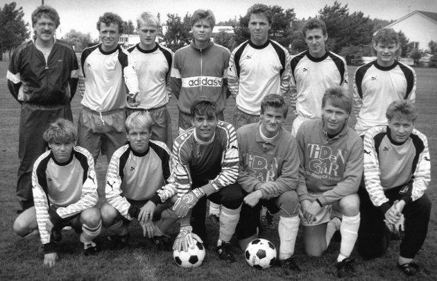 Bedriftsfotball, Rygge Flystasjon / Forsvaret, 1992.