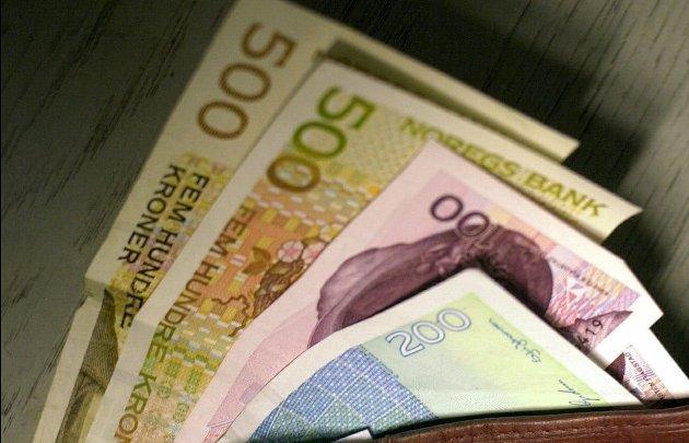 Lettjente penger: Jeg er visst den rette arvingen til 40 prosent av 16,5 millioner «pounches».
