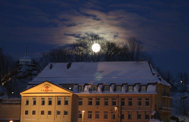 UANSETT: Jeg kan bli både irritabel og dustete uansett vær og føreforhold, og månens fylde.foto: Sigrid Ringnes