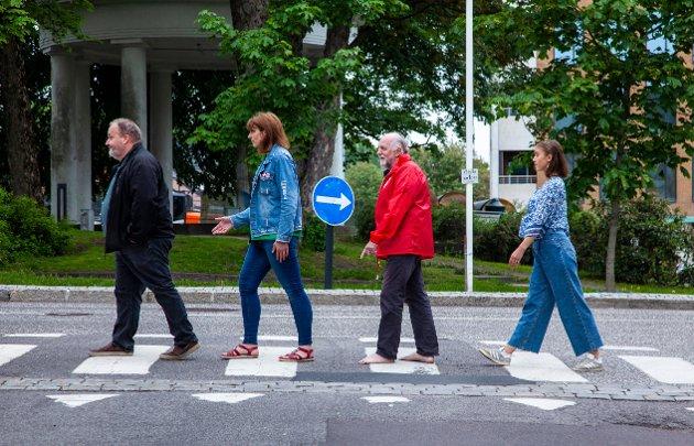 Tønsberg SVs fire første vil ha bolig til vanlige folk i sentrum