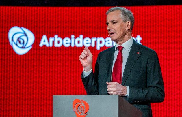 Innsenderen ønsker at Jonas Gahr Støre og Arbeiderpartiet skal overta den politiske styringen av Norge.
