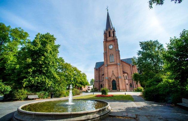 Domkirken i Fredrikstad.