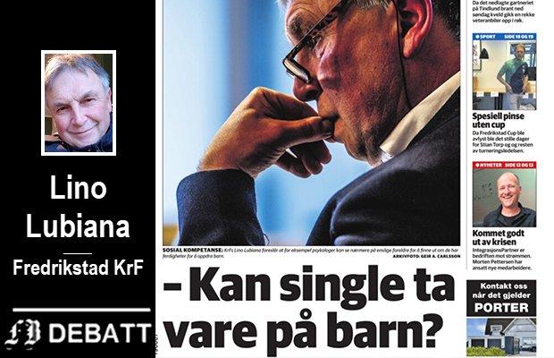 Lino Lubiana er kritisk til oppslaget som ble en realitet som følge av KrF-politikerens eget Facebook-innlegg.
