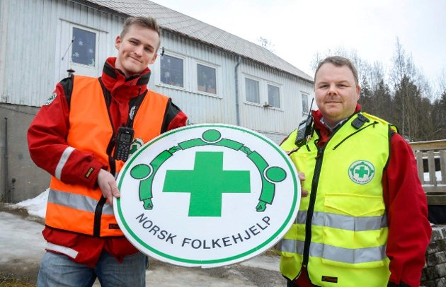 Norsk Folkehjelp Mo, leder Torgeir Løkås og operativ leder Kim Roger Lien.