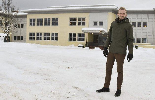 NR. 1: Adrian Tollefsen er Øvre Eiker Høyres ordførerkandidat.