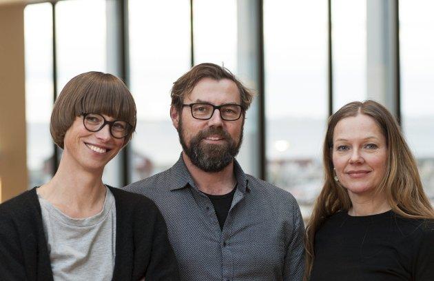 Nordland Venstre: Ida Gudding Johnsen, Arne Ivar Mikalsen og Anja Johansen.Foto: Simen I Vangen