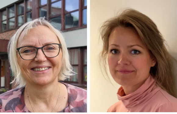 Greta Klevstad, Folkehelsekoordinator og Eva Kibsgaard Nordberg, kommuneoverlege i Vestvågøy kommune