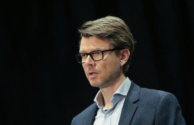 Kommuneoverlege Kristian Krogshus skal informere om utviklingen av korona i Moss.
