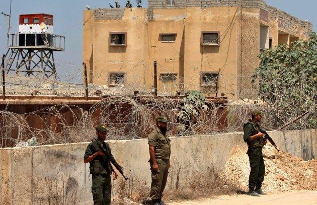 Arkivbilde: Medlemmer av Hamas sikkerhetsstyrker.