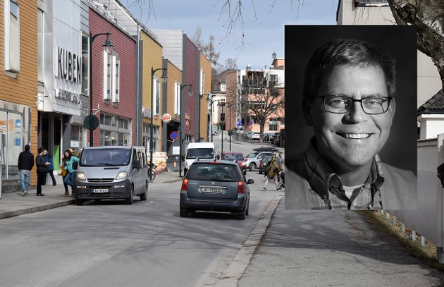 Øyvind Lien, nyhetsleder i Ringerikes Blad.