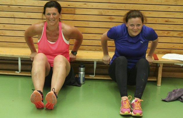 Marianne Stigsrud og Trude Ødegaard trener på Tyristrand, og merker god effekt, skrev Ringerikes Blad i tirsdagsavisen.