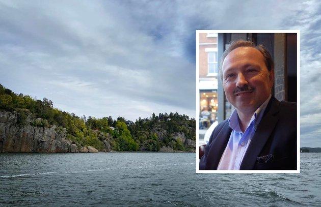 RAMBERG: Nå kan vi dessverre fortsatt få en fastlandsforbindelse de fleste ikke vil ha, altså Ramberg/Smørberg, skriver Jan Petter Andersen.