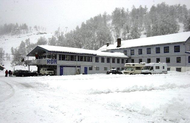 Slik så Ungdomsheimen                       på Kvamskogen ut i 2003.