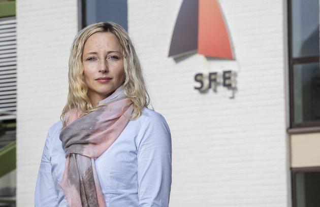 Jannicke Lindvik, kommunikasjonssjef i SFE