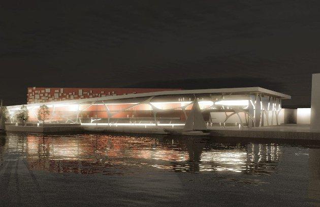 Det er fortsatt mange usikre elementer før Arena Fredrikstad skal bygges. Totalkostnaden er satt til 600 millioner kroner.