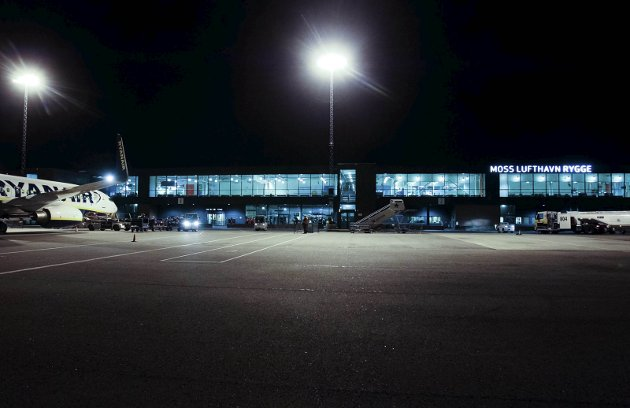 Siste dag på Moss Lufthavn Rygge 1. november 2016.