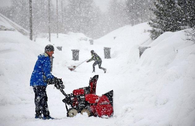 Halleland trekk fram ein metafor om å måke snø med ein spade samanlikna med snøfresar, for å vise at Noreg må gjere ein større jobb enn EU i klimadugnaden. Men det stemmer ikkje, skriver Sveinung Rotevatn (V).